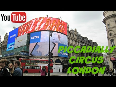 PICCADILLY CIRCUS LONDON: FAMOUS TOURIST ATTRACTION (HD)
