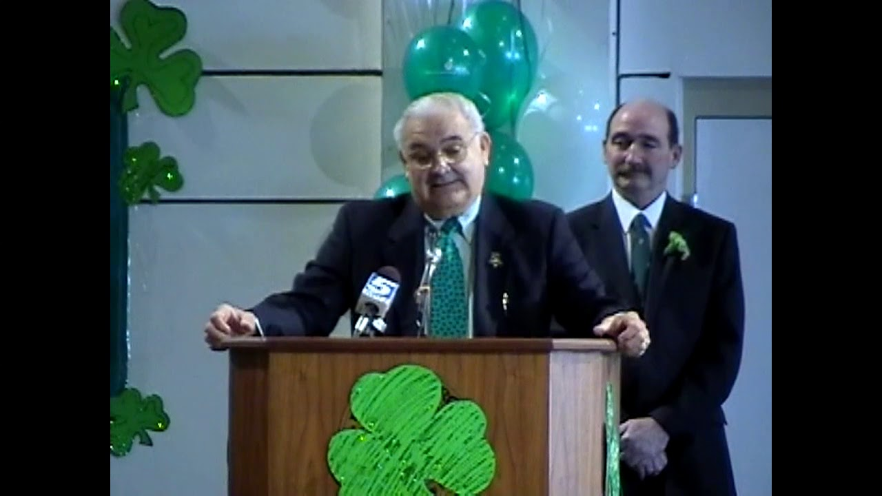 John Zurlo Irishman of the Year  3-17-10