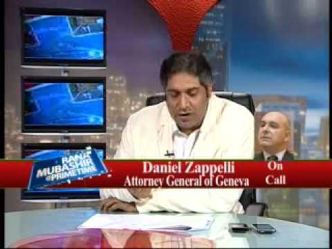Rana Mubashir with Attorney General of Geneva ( Daniel Zappelli) Part 5.flv
