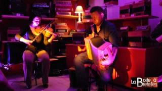 """Concert Dégustation """"Dans la Boite"""" avec Julie Vincent et François Badeau"""