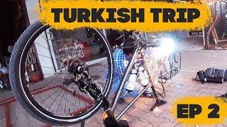 Заварил раму в путешествии, велосипед еле дышит... Turkish Trip, ep2