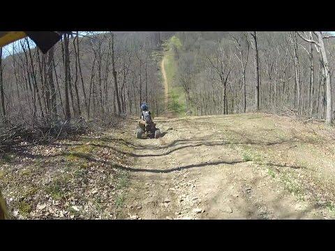[HILLCLIMB OHIO] 4-24-16 Hillclimbing/Riding at Coal Hollow