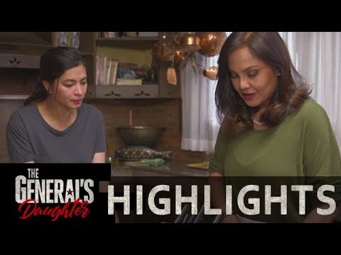 Corazon is having trouble in getting Rhian's trust | The General's Daughter