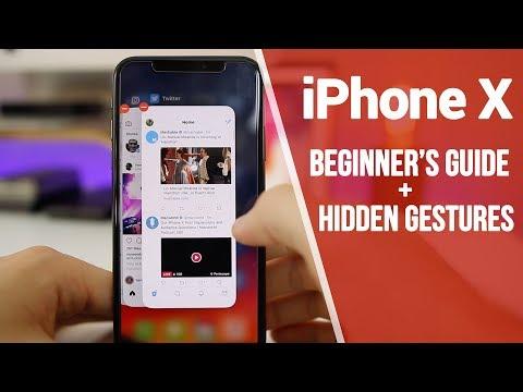 iPhone X - Beginner's Guide