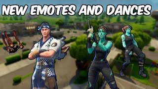 Fortnite New Skins/Emotes!!!!