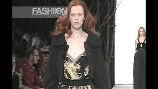 MARC JACOBS Fall Winter 2005 New York - Fashion Channel