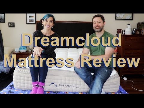 DREAMCLOUD LUXURY MATTRESS UNBOXING + REVIEW