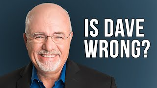 3 Ways Dave Ramsey is WRONG! (or is he?)