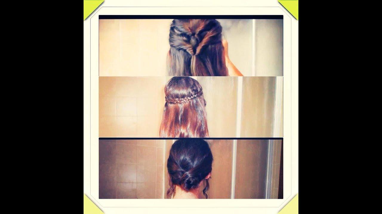 Hairstyle: 3 modele flokesh te thjesht per cdo rast ...
