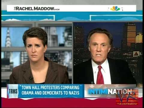 Image result for photo of frank schaeffer on Rachel Maddow