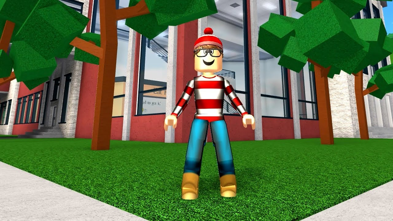Video HOW TO BE WHERES WALDO IN ROBLOXIAN HIGHSCHOOL!!