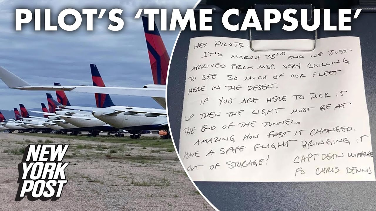 Delta pilot's 'time capsule' reveals 'chilling' start of the pandemic | New York Post