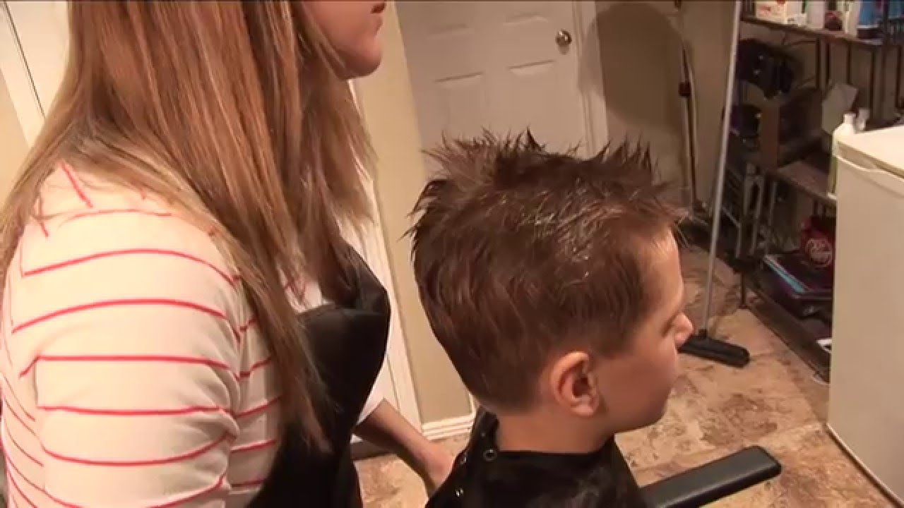 How To Cut Boy S Hair Basic Boys Haircut Hair