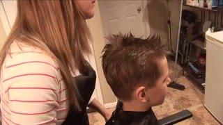 HOW TO CUT BOY'S HAIR // basic boys haircut // hair tutorial
