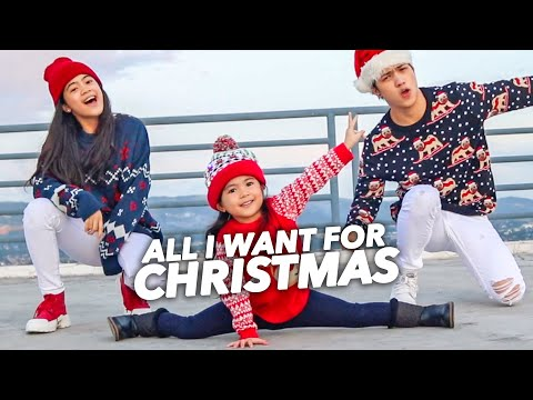 All I Want For CHRISTMAS Siblings Dance! | Ranz and Niana ft Natalia