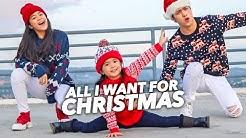 All I Want For CHRISTMAS Siblings Dance!   Ranz and Niana ft Natalia