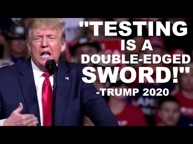 Trump wasn't kidding.. Covid-19 **BROKE** RECORDS, is testing FINISHED?!   Covid-19 News