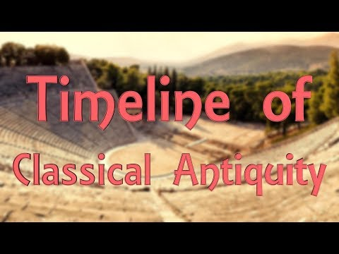Timeline of Classical Antiquity