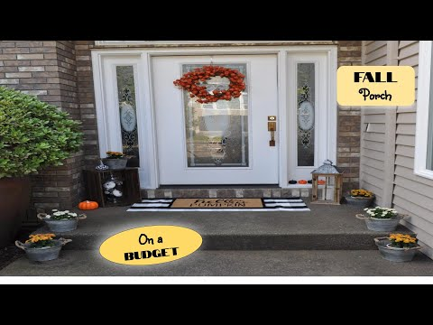 Fall Front Porch Decor 2019 🍂 Decorate and Clean with Me 🍂 Farmhouse Decorating Ideas