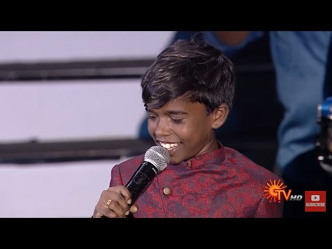 Super Singer Juniors 6 | Finalist | Poovaiyar Performance | Kabbis 😎