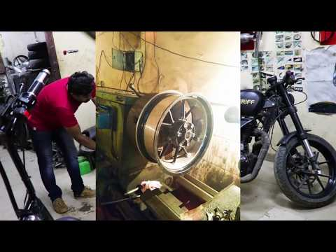 Cafe Racer Style Royal Enfield - Part 3 - King Indian
