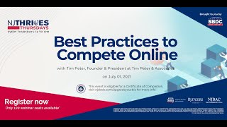 NJTT #009: Best Practices to Compete Online