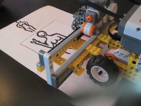 Lego Mindstorms NXT 2 0   The Scanner   YouTube Lego Mindstorms NXT 2 0   The Scanner