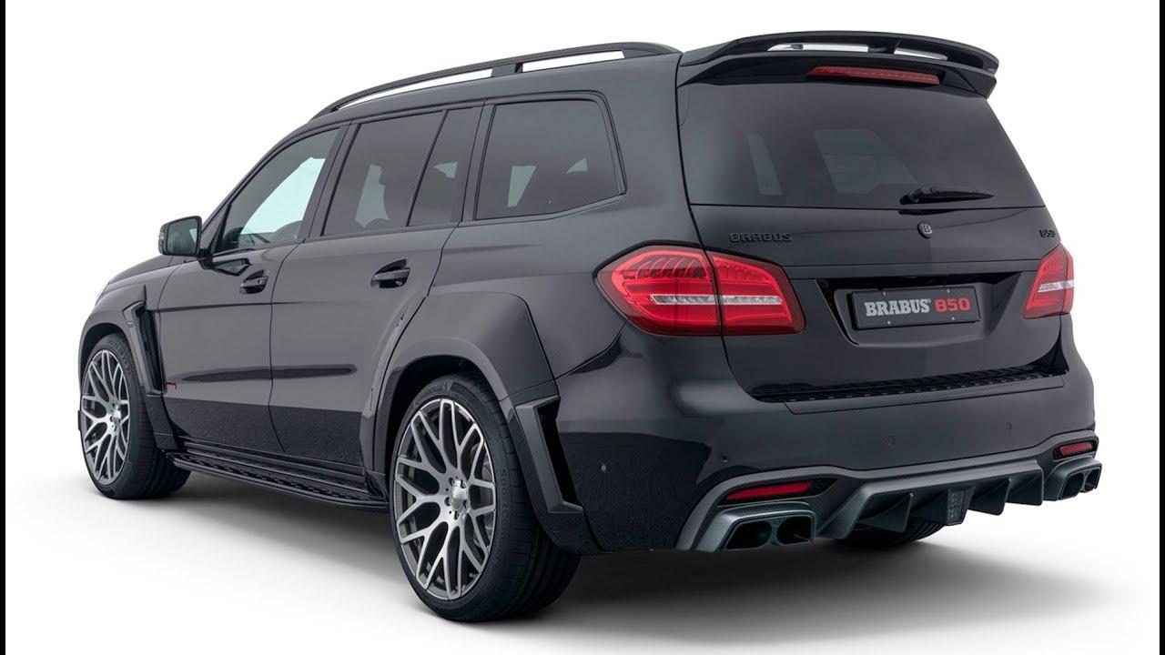 2018 Brabus 850 Based On Mercedes Amg Gls 63 X166 Youtube