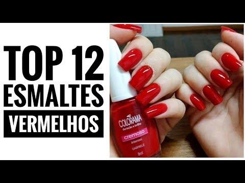 TOP 12 ESMALTES VERMELHOS PARA VOCÊ SE INSPIRAR|Fotos E Inspirações|Blog Da Re Castori