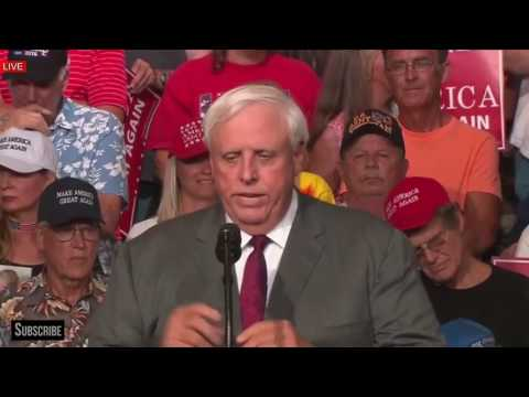 SHOCKING: Jim Justice Delivers BIG ANNOUNCEMENT President Donald Trump Rally in Huntington, WV