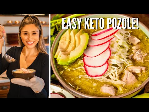 how-to-make-the-best-pozole-verde-ever!-easy-keto-pozole-recipe- -mexican-green-chicken-pozole
