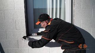 Отделка откосов пластиковых окон своими руками при навесных вентилируемых фасадах