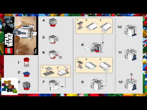 Lego Instructions Star Wars 30611 R2 D2 Youtube