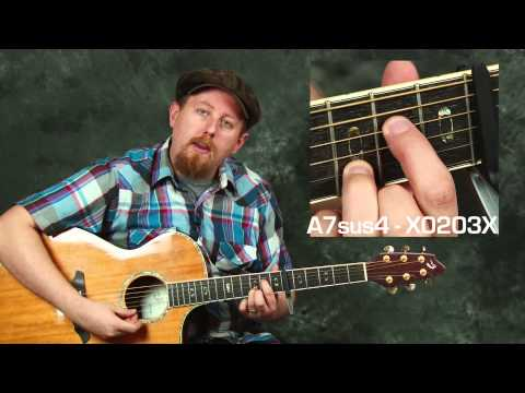 Learn Ed Sheeran I See Fire acoustic guitar song lesson chords strums rhythms from The Hobbit
