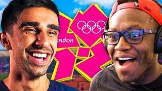 DEJI JOINS US! - London 2012 Olympics