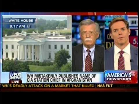 WH Mistakenly Publishes Name Of CIA Station Chief If Afghanistan - America's Newsroom