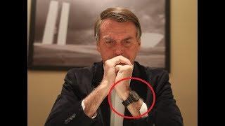 O Relógio do Presidente Bolsonaro