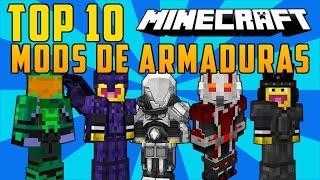 TOP 10 MODS DE ARMADURAS MINECRAFT 1.8/1.7.10 - Los Mejores Mods