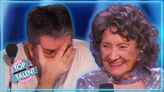 UNEXPECTED OLDEST Dance Auditions On Got Talent! | Top Talent