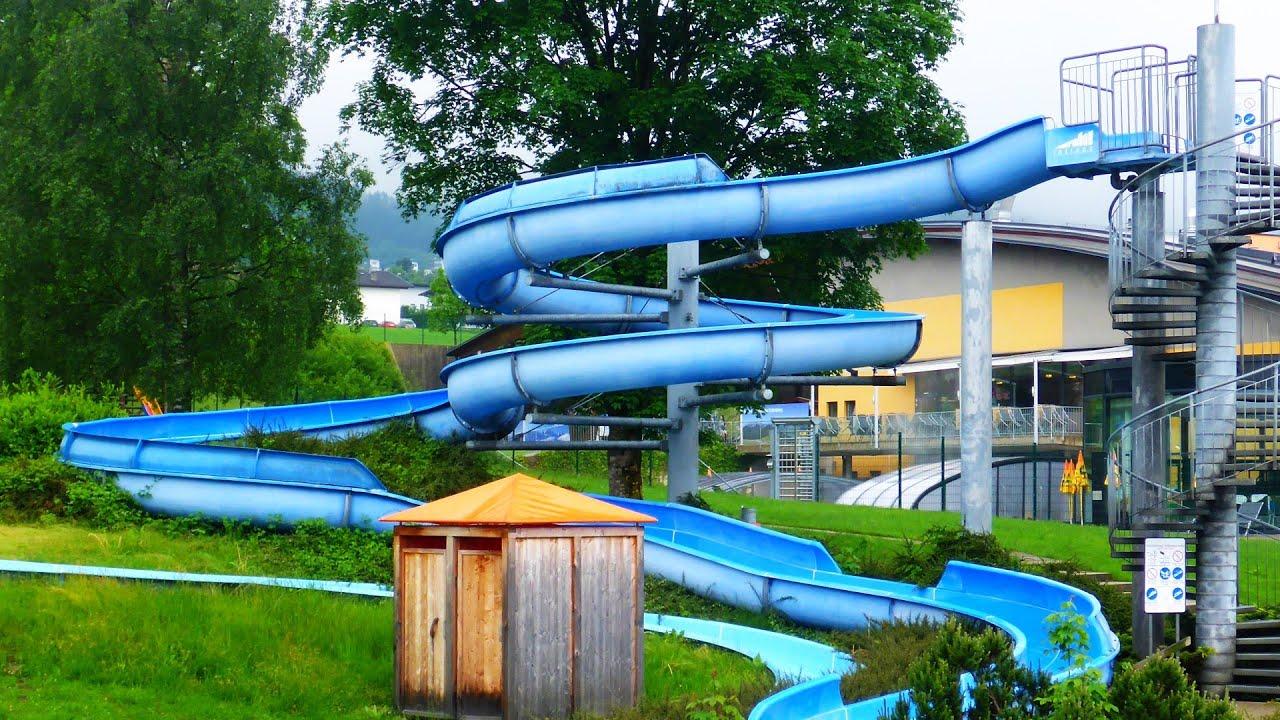 blaue Riesenrutsche | Freibad Erlebnisbad Zillertal Fgen ...