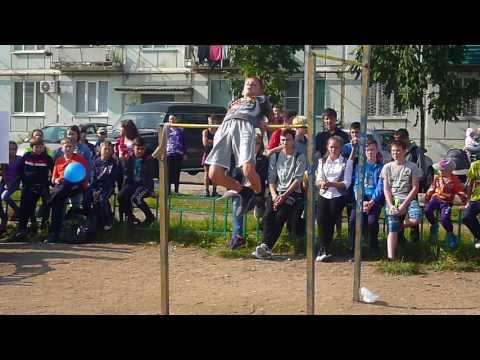 Школьные соревнования по Street Workout