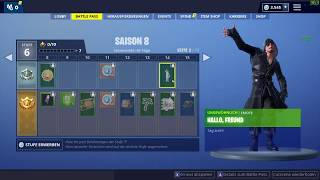 NEU Fortnite Season 8 Tanz/Dance/Emote Hallo, Freund - Hello Friend Battle Pass Epic Games
