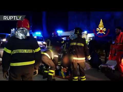 Во время давки на рэп-концерте в Италии погибли шесть человек