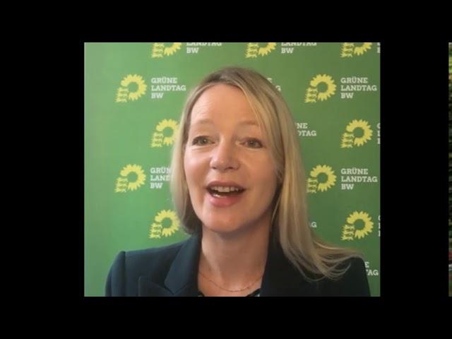 Rede Thekla Walker MdL beim digitalen Neujahrsempfang des Ortsverbandes Sindelfingen