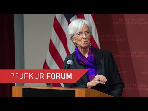 A Public Address by Christine Lagarde