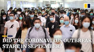 Exclusive: Coronavirus outbreak may have started in September, say British scientists