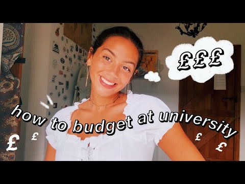 how to budget at university 101 // money saving tips for students!