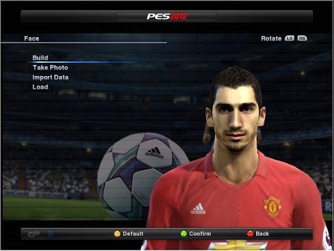 Man Utd Face Pes 2012