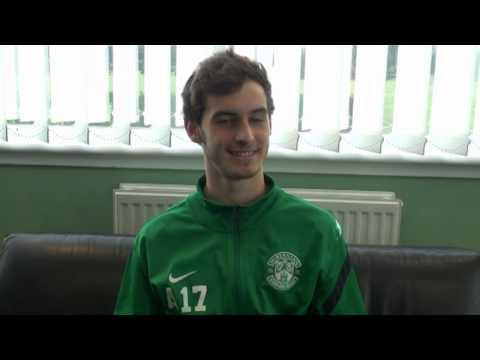 Under 20s winger Max Todd speaks to #HibernianTV
