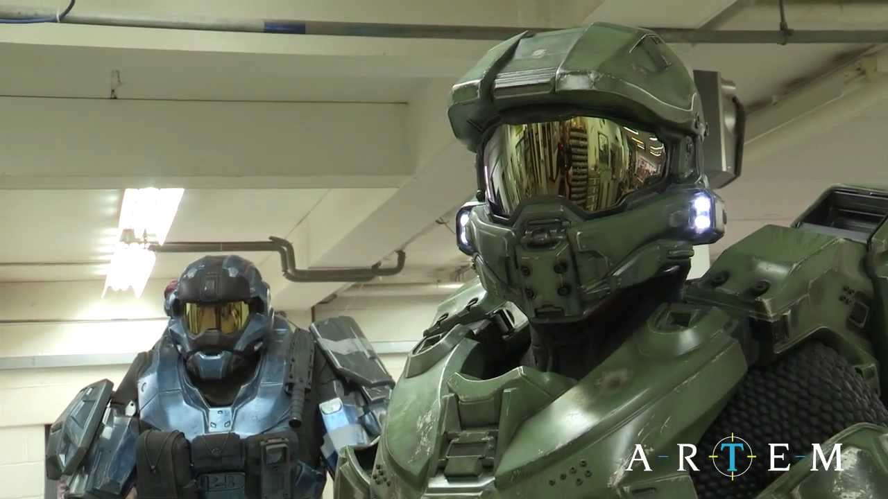 & Halo 4 Master Chief Armour: Making Of - YouTube